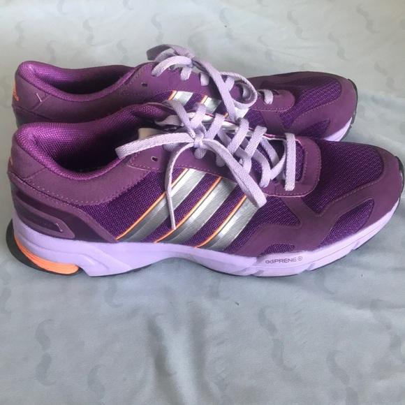 Adidas Women Purple Running Shoes Size